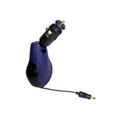 Sony Ericsson Compatible Premium Retractable Rapid Car Charger F8V7014-GLD-RTC  (DS)