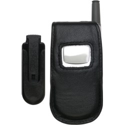 Audiovox Compatible Leather Case with Swivel Belt Clip