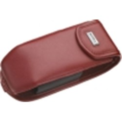 Rim Blackberry Original Leather Pouch - Burgundy   ACC-08512-003