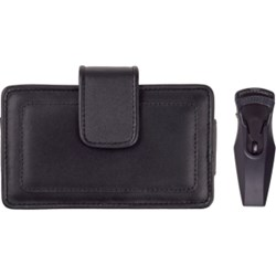 Fitted Horizontal Leather Pouch - Extra Large   392237