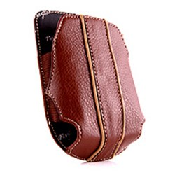Blackberry Compatible Naztech Cabrio Pouch - Brown and Beige   8710BB