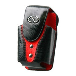 Naztech Vertical Boa Holster - Black and Red  8985