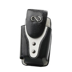 Naztech Vertical Boa Holster - Black and White  8986