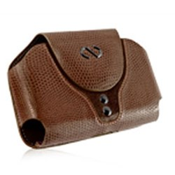 Blackberry Compatible Naztech Boa Case - Brownie Brown  9028BB