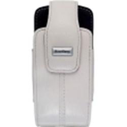 Blackberry Original Lambskin Leather Swivel Holster - Pearl White   ACC-11930-004
