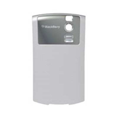 Blackberry Original Standard Battery Door-Silver    ASY-12844-002