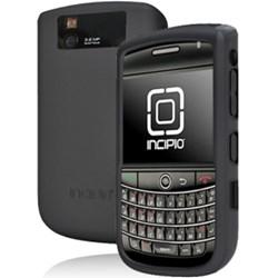 Blackberry Compatible Incipio dermaSHOT silicone case - Black  BB-750