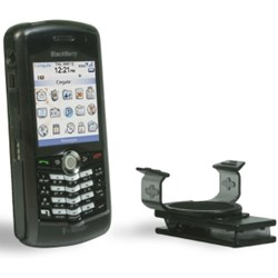 Blackberry Compatible Speck See Thru Hard Shell Case and Holster  - Smoke    BBP-CLR-SEE