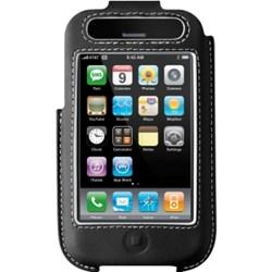 Apple Compatible Belkin Black Leather Case   F8Z338