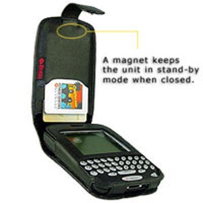 Blackberry Compatible Krusell Multidapt Leather Case   KBLK7750HM