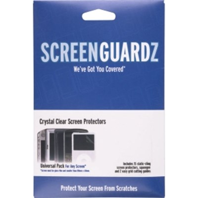 Universal Single ScreenGuardz Screen Protectors - 15 pack   NL-SGUN-0506