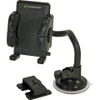 Universal Bracketron Mobile Grip-iT Windshield Mount Kit    PHW-203-BL