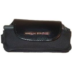 Universal Reaction Horizontal Leather Pouch - Black    RKC02-554485