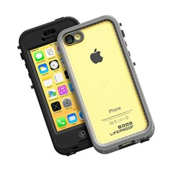 Apple Compatible Lifeproof Nuud Waterproof Case - Black and Clear  2002-01-LP
