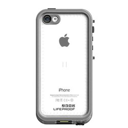 Apple Compatible Lifeproof Nuud Waterproof Case - White and Clear  2002-02-LP
