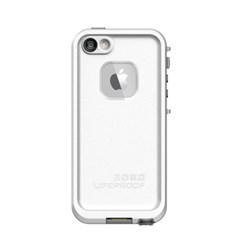 Apple Compatible LifeProof fre Rugged Waterproof Case - White and Gray  2115-02-LP