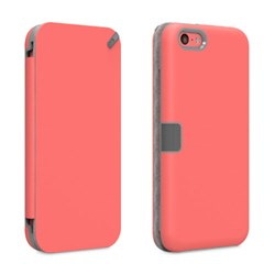 Apple Compatible Puregear Folio Wallet Case with Front Cover Convertible Kickstand - Pink 60456PG