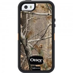 Apple Otterbox Defender Rugged Interactive Case and Holster - Realtree Camo Xtra Blaze   77-33388