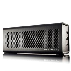 Braven 570 BlueTooth Wireless Speaker and Speakerphone - Lunar Black  BZ570BBP