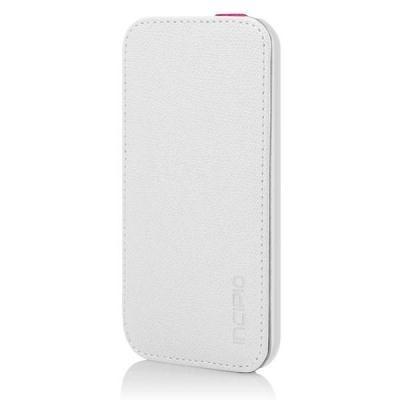 Apple Compatible Incipio Watson Folio Case  - White and Pink IPH-1135-WHT