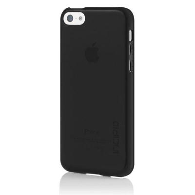 Apple Compatible Incipio Feather Clear Case - Black IPH-1142-BLK