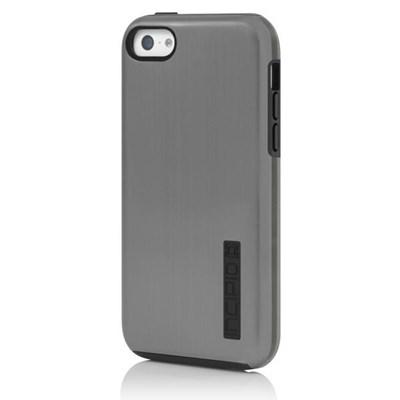 Apple Compatible Incipio DualPro Shine Case  - Silver and Black  IPH-1146-SLV