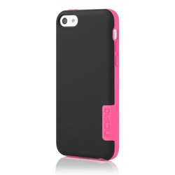 Apple Compatible Incipio OVRMLD Hard Case - Black and Neon Pink  IPH-1147-BLK