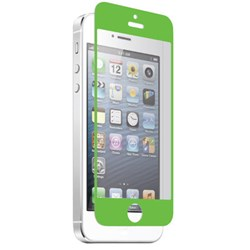Apple Compatible Znitro Nitro Glass Tempered Glass Screen Protector - Green NGIP5GR