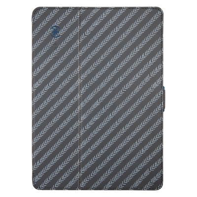 Apple Compatible Speck Stylefolio Fitted Case - MoveGroove Grey-Glate Grey-Deep Sea Blue  SPK-A2253