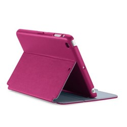 Apple Compatible Speck Stylefolio Case - Fuchsia Pink and Nickel Gray  SPK-A2440