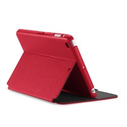 Apple Compatible Speck Stylefolio Case - Dark Poppy Red and Slate Gray  SPK-A2445