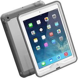 Apple Compatible Lifeproof Waterproof Nuud Case - White and Gray  1901-02-LP