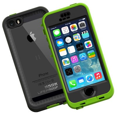 Apple Compatible Lifeproof Nuud Waterproof Case - Dark Lime and Smoke  2105-04-LP 0f9edcb7744c