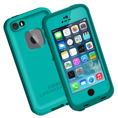 finest selection 88da0 5a528 Apple iPhone 5 Compatible LifeProof fre Rugged Waterproof Case - Dark Teal  and Teal 2115-03-LP