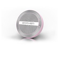 Braven Mira Portable Wireless Speaker - Pink and White  BMRAKSW