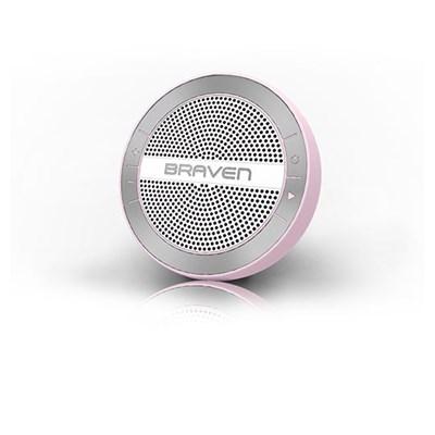 Braven Mira Portable Wireless Speaker - Pink and White  BMRAKSW