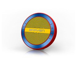 Braven Mira Portable Wireless Speaker - Red, Blue and Yellow  BMRARUY