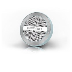 Braven Mira Portable Wireless Speaker - Blue, Silver and White  BMRAUSW