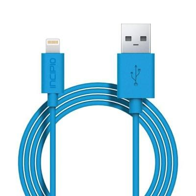 Apple Compatible Incipio Lightning Charger and Sync Cable - Cyan PW-185