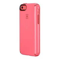Apple Compatible Speck CandyShell Rubberized Hard Case - Pink and Poppy Red Core  SPK-A2583