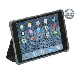 Apple Compatible STM dux Rugged Folio Case  - Black  STM-222-066G-01