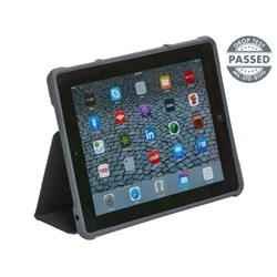 Apple Compatible STM dux Rugged Folio Case  - Black  STM-222-066J-01