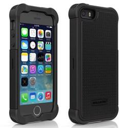 Apple Compatible Ballistic Tough Jacket Case - Black and Black TJ0926-A06C