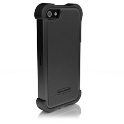 Apple Compatible Ballistic Tough Jacket Maxx Case and Holster - Black and Black  TX0945-A06C