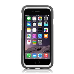 Apple Compatible Naztech Vertex 3-Layer Cover Case - White and Grey  13046-NZ