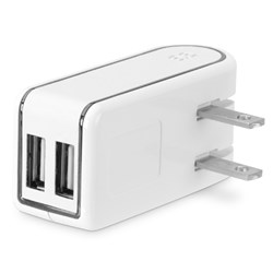 Puregear 2.4 Amp Dual Usb Travel Charger - White  60515PG