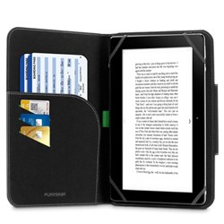 Puregear Universal Folio Case for 7-8 Inch Tablets - Black  60679PG