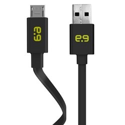 Puregear 48 inch Charge-sync Flat Cable Micro Usb Cord - Black