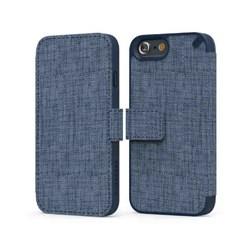 Apple Compatible Puregear Express Folio Wallet Case - Blue Canvas