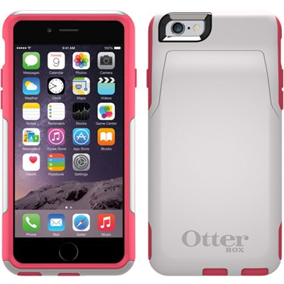 the latest 7ceec d2a69 Apple iPhone 6 OtterBox Commuter Rugged Wallet Case - Neon Rose ...